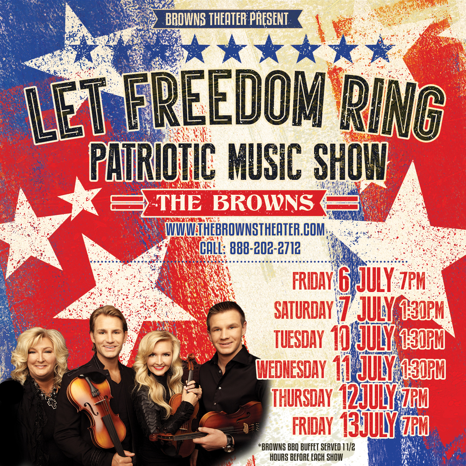 Let Freedom Ring Patriotic Show